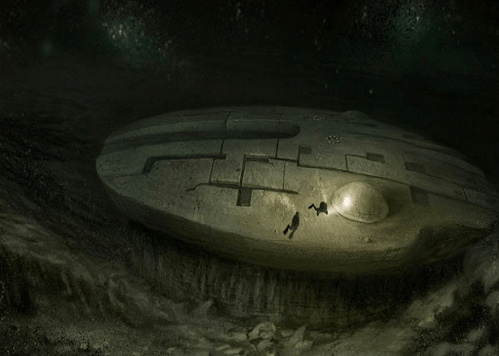 Is this 140,000 year old Alien Spacecraft in the bottom of Baltic Sea Baltic Sea Anomaly