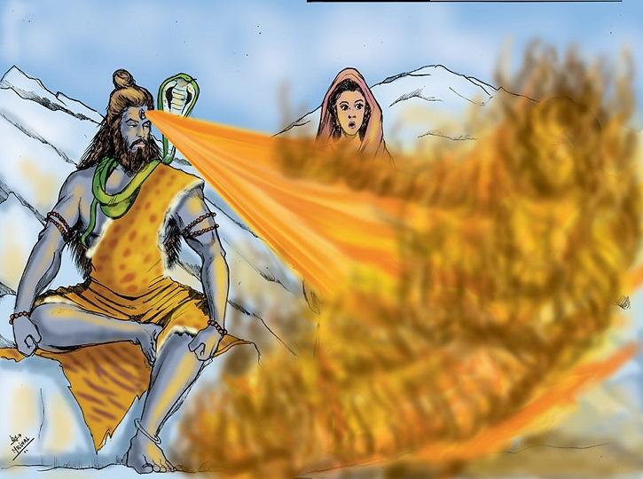 சிவனின் மூன்றாவது கண் என்பது உண்மைதானா ? விசித்திர சக்திகளுடன் உலா வரும் யோகமாதா